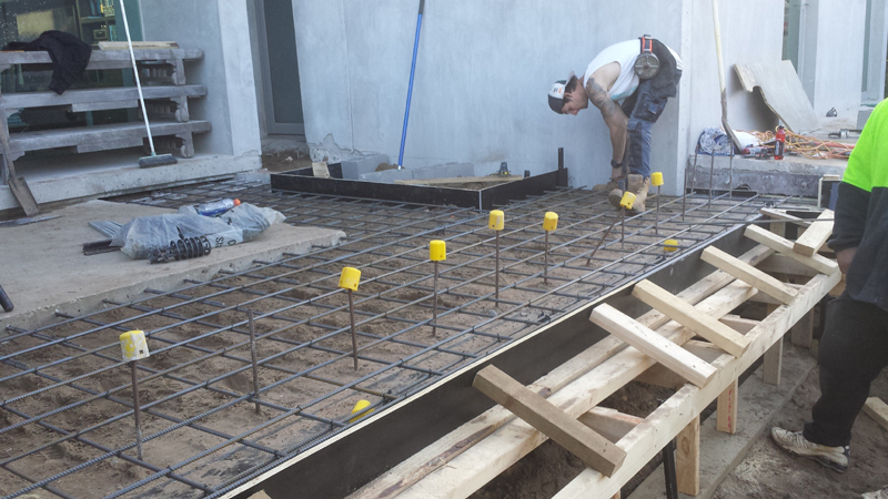 Melbourne Pool Steel Fixers Concrete Pool Construction